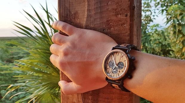À quelle occasion porter une montre en bois